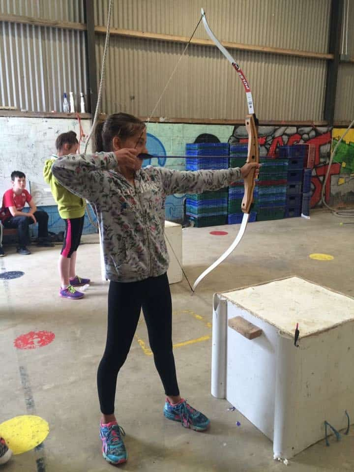 Archery in the Rostrevor Base