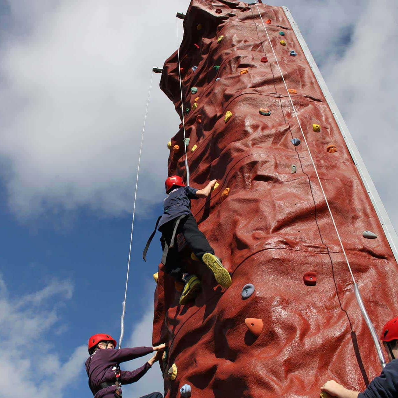 35FT Mobile Climbing Tower