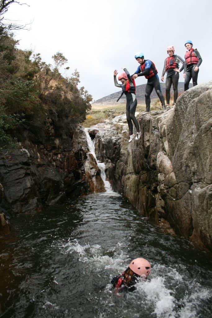Wet River Bouldering