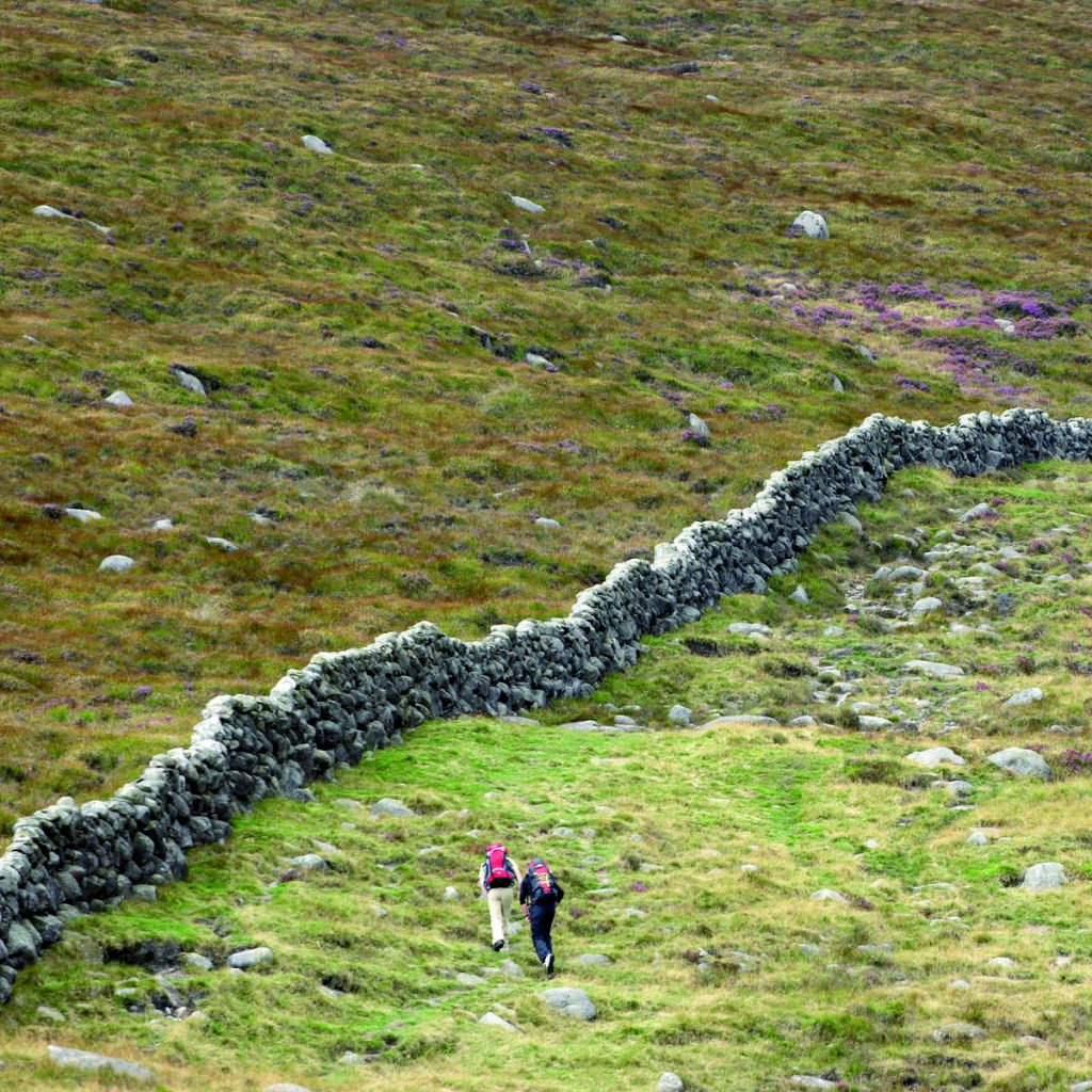 Hit the wall - guided walking Mourne Wall Challenge